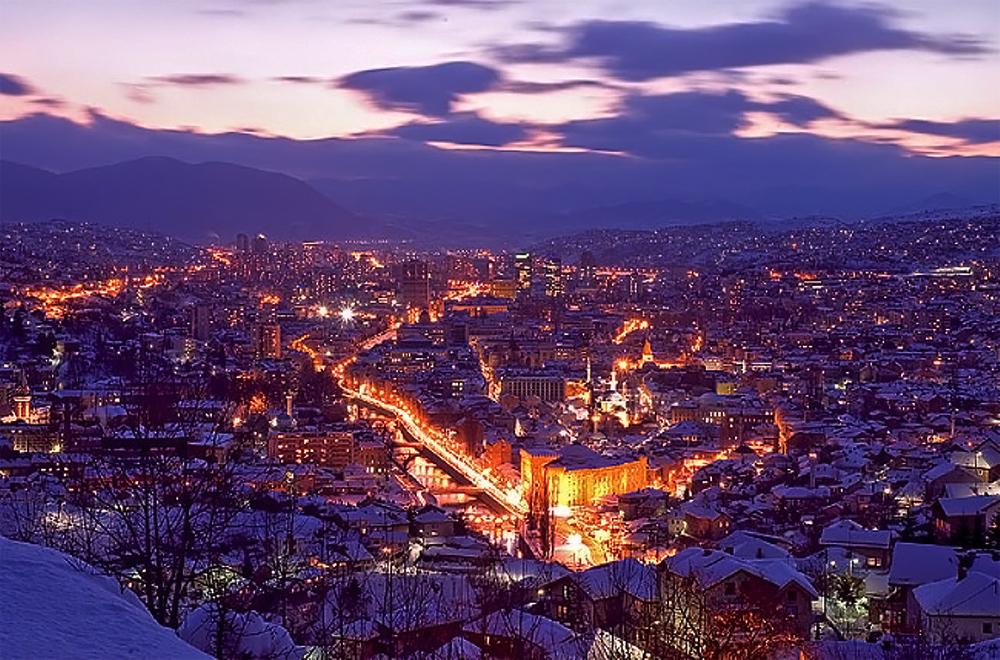 Vista di Sarajevo