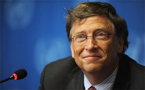 Una foto di Bill Gates. Nella sua lettera annuale alla Bill & melinda gates Foundation, Bill Gates parla di obiettivi e metri di misura per favorire il progresso dei progetti di cooperazione internazionale.