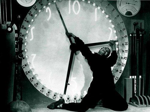 """Una scena di """"Metropolis"""", film di Fritz Lang del 1927"""